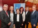 Staatsministerin Emilia Müller mit Vertretern der bayerischen Wirtschaft und Mitgliedern des Europäischen Parlaments