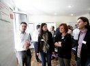 Teilnehmer der Integrationskonferenz diskutieren in Workshops zur Fortentwicklung der Integrationspolitik.