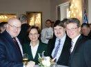 Gruppenbild mit dem tschechische Kulturminister, Staatsministerin Emilia Müller, Bernd Posselt, MdEP, Sprecher der Sudetendeutschen Volksgruppe, Kulturstaatssekretär Bernd Sibler