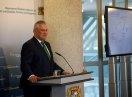 Staatsminister Joachim Herrmann während seiner Rede zu Beginn der Integrationskonferenz