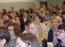 Menschen im Publikum