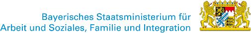 Logo: Bayerisches Staatministerium fr Arbeit und Sozialordnung, Familie und Frauen